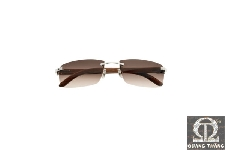 Cartier T8200647 C DECOR RIMLESS SUNGLASSES