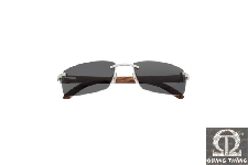 Cartier T8200586 C DECOR RIMLESS SUNGLASSES