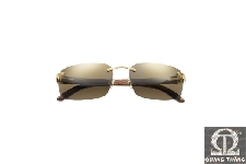 Cartier T8200719 RIMLESS SUNGLASSES WITH C DECOR