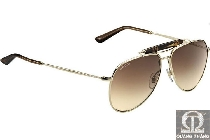 Gucci GG 2235S JFGOH Gold Brown Gradient 329
